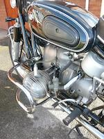 1958 BMW 490cc R50 Frame no. 558.637 Engine no. 558.637