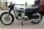 1970 Norton 650cc Mercury Frame no. 129398 Engine no. 129398