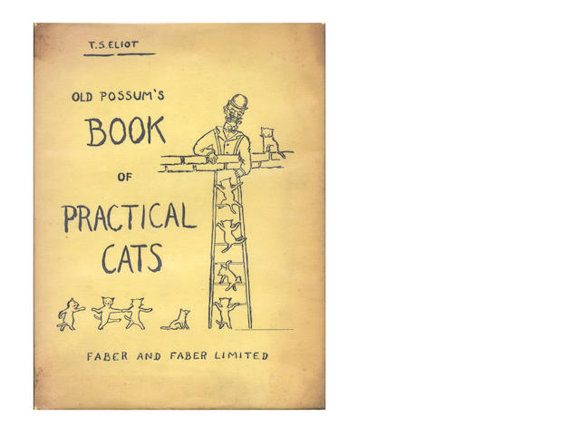 ELIOT (T.S.) Old Possum's Book of Practical Cats, FIRST EDITION, 1939