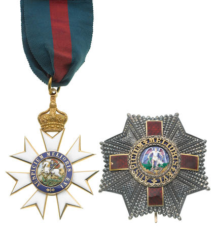 The Most Distinguished Order of St.Michael and St.George,