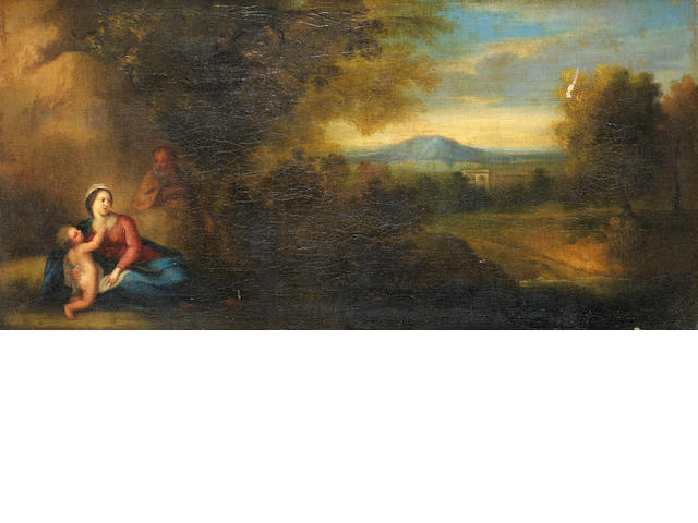 Flemish School, 18th Century The Rest on the Flight into Egypt