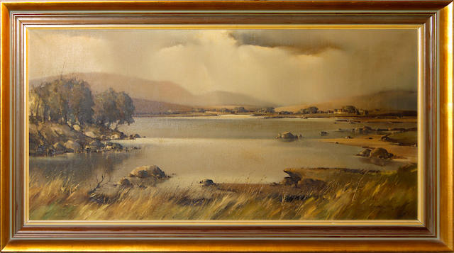 Arthur H. Twells (Irish), 20th Century Connemara landscape