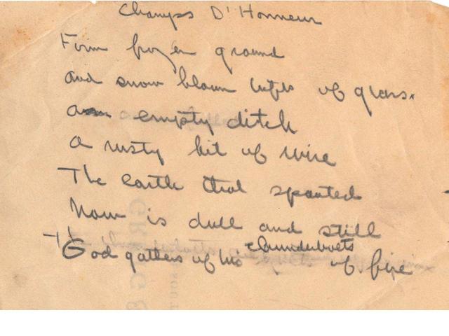 HEMINGWAY, ERNEST (1899-1961, American writer)