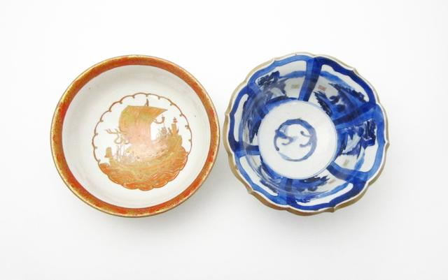 A Koransha bowl and an Arita bowl Meiji