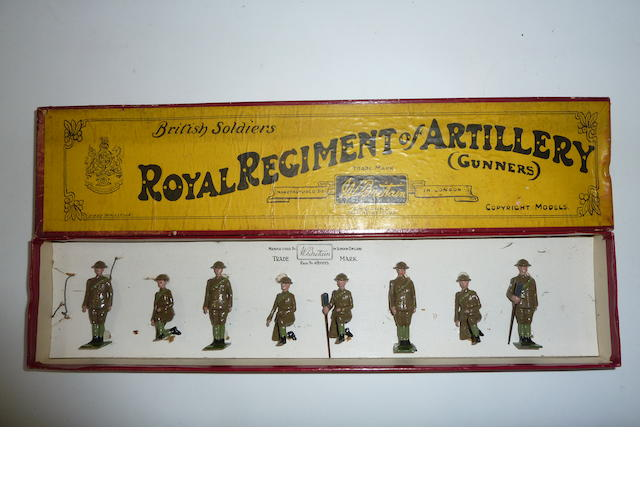 Britains set 313, Royal Regiment of Artillery Gunners 8