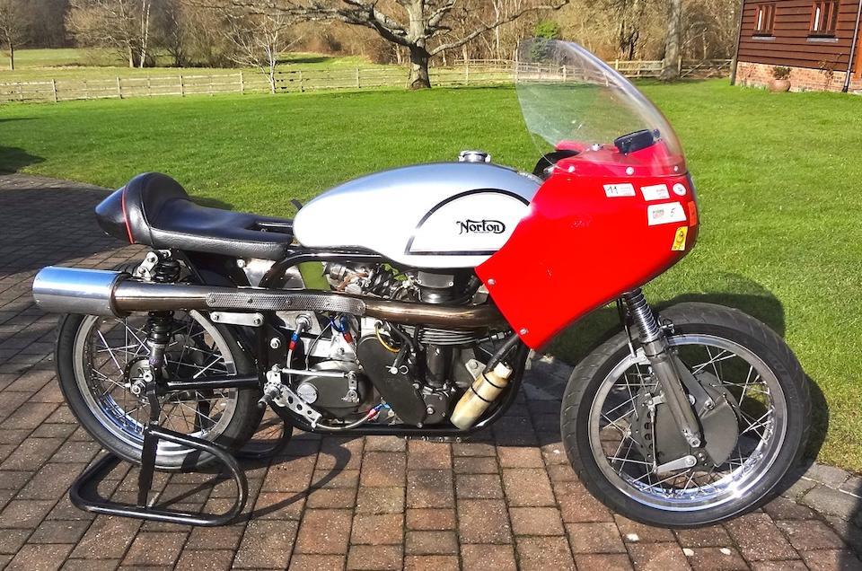 Norton 350cc Manx Replica,