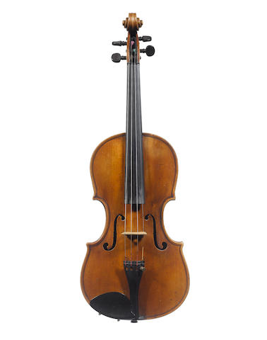 A Violin ascribed to Girolamo Trucco, Savona, circa 1840 (2)