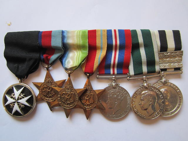 An Order of St.John group of seven to H Pickles, St.John Ambulance Brigade, late Royal Naval Auxiliary Sick Berth Reserve,