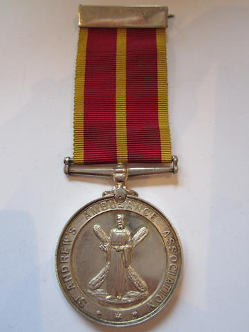 St Andrews Association Medal,
