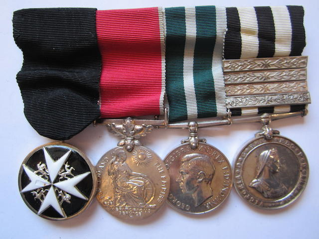An Order of St.John and B.E.M. group of four to Corporal J.Crone, St.John Ambulance Brigade, late Royal Naval Auxiliary Sick Berth Reserve,