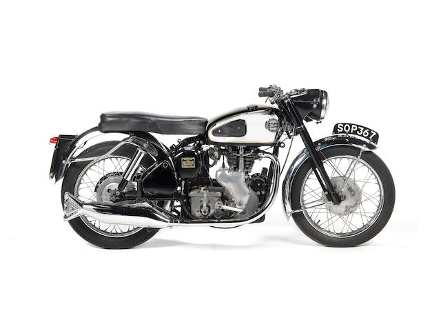 1956 Velocette 349cc Viper, Engine no. 002