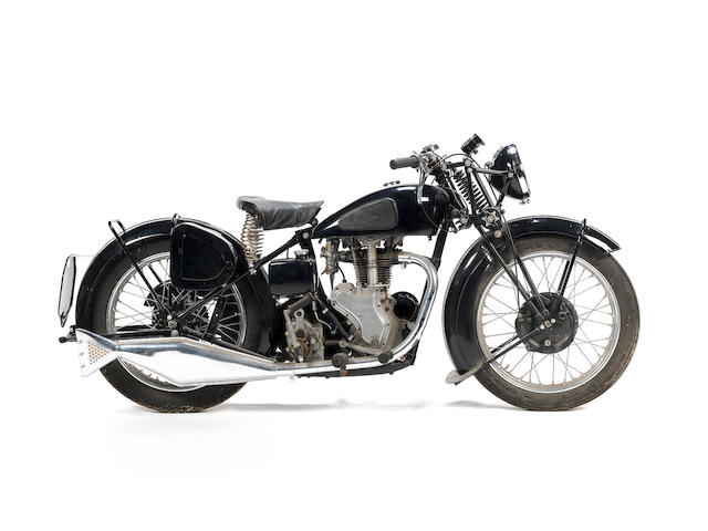 1939 Velocette  MAC Frame no. TBA Engine no. MAC10650