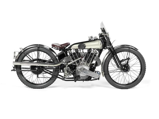 1926 Brough Superior 981cc SS80/100 Frame no. 480 Engine no. KTOR/A 37516