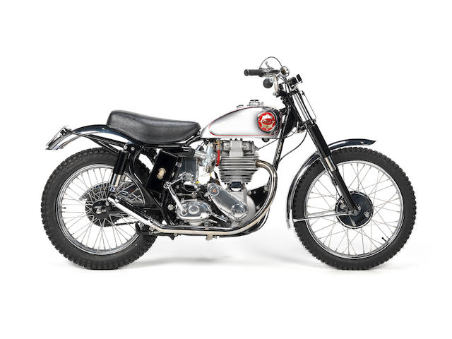 1961 BSA Gold Star Scrambler