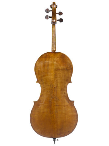 An English Cello Thompson School, London, circa 1800 (3)