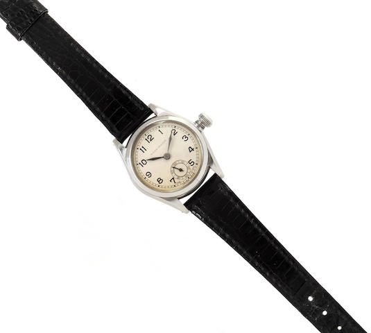 Rolex: A stainless steel Oyster wristwatch
