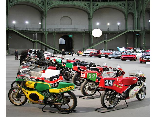 Motorcycles at the Grand Palais, Paris
