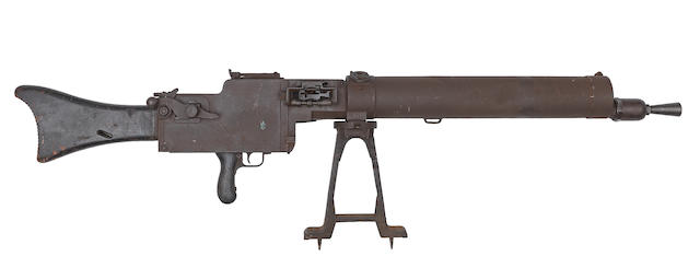 A deactivated 7.92mm 'MG08/15' machine-gun by Spandau, no. 9114