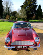 1966 Aston Martin DB6 Sports Saloon, Chassis no. DB6/2707/R Engine no. 400/2655