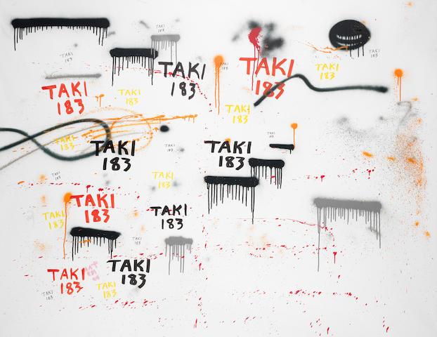 Taki 183 (b. 1954) Untitled