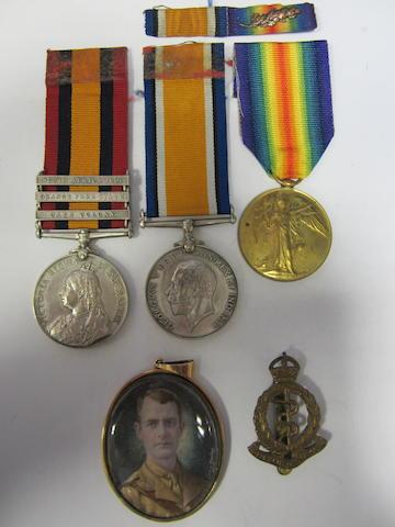 Three to Lieutenant J.R.Brown, Royal Army Medical Corps,