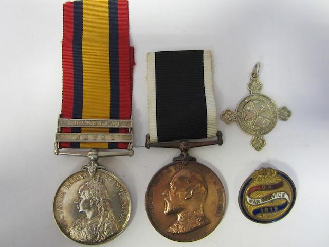 Pair to Orderley A.Parkin, St.John Ambulance Brigade,