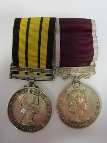 Pair to Staff Sergeant K.R.Barton, Royal Army Medical Corps,