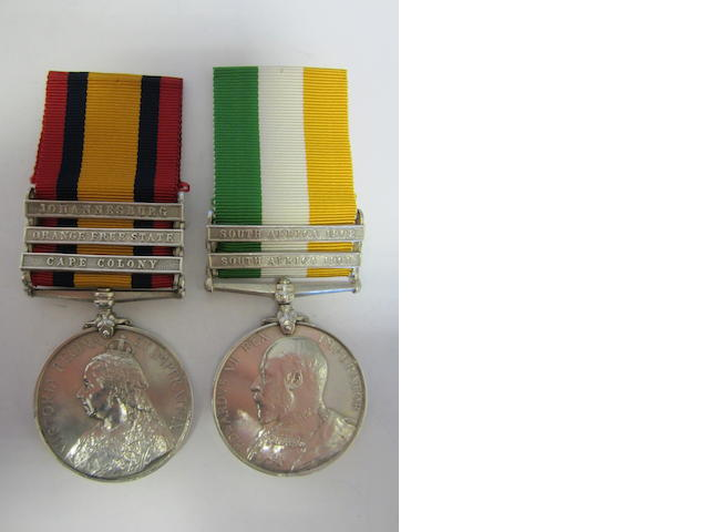 Pair to Captain W.C.Croly, Royal Army Medical Corps,