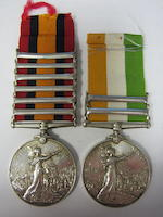 Pair to Colonel J.H.Daly, Royal Army Medical Corps,