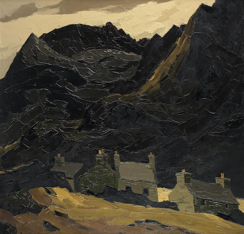 "Sir Kyffin Williams R.A. (British, 1918-2006) ""Gwastadnant"","