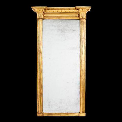 A Regency giltwood pier mirror
