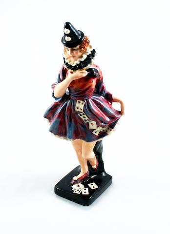 A Doulton Burslem 'Pierette' figure 1936-49