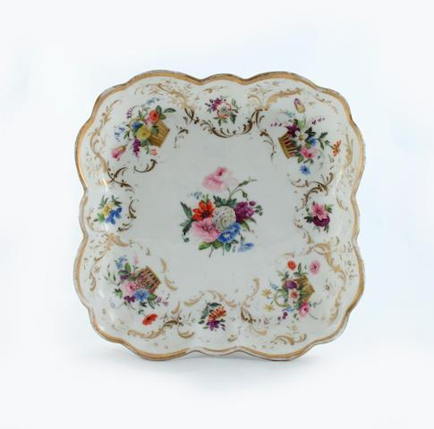 A Nantgarw dessert dish Circa 1818-20