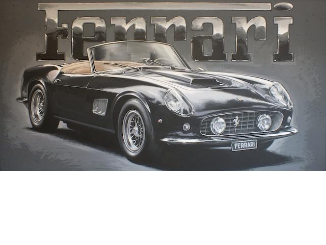 Tony Upson, 'Ferrari California Spyder',