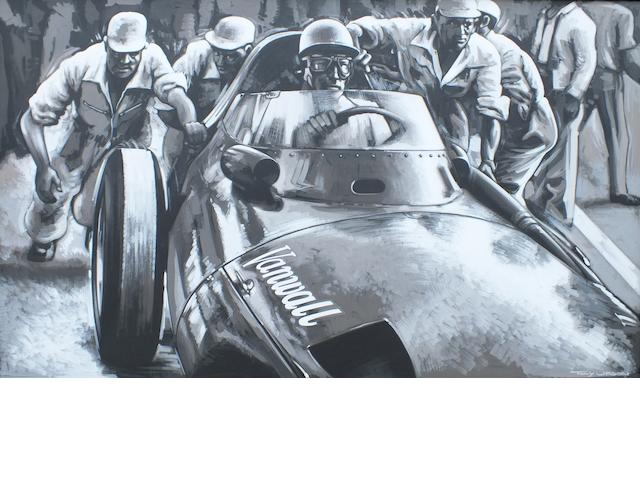 Tony Upson, 'Stirling Moss - Vanwall',