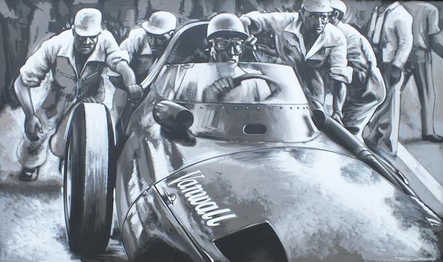 Tony Upson, 'Stirling Moss - Vanwall',