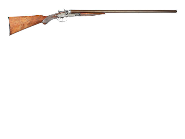 A 12-bore sidelock hammer gun by Midland Gun Co., no. 18427
