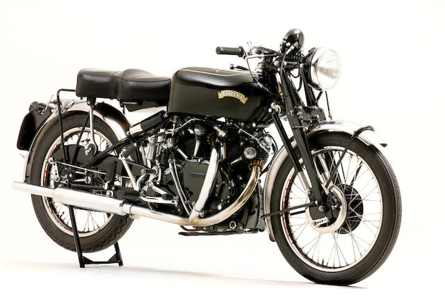 1952 Vincent 998cc Montlhery Black Shadow