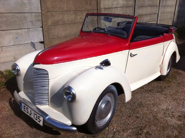 1948 Hillman Minx Phase II Drophead Coupé  Chassis no. 1884243HCO