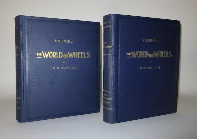 H O Duncan: The World on Wheels; Volumes 1 and 2,