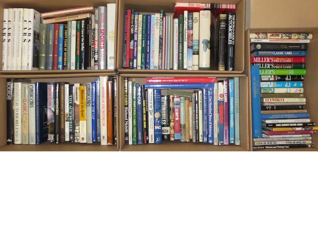 A quantity of assorted motoring reference books,