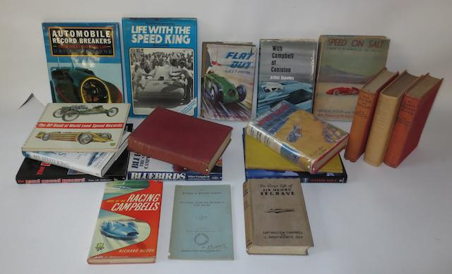 Books relating to Speed Records,