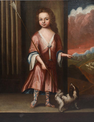 English School, 18th Century Portrait of Jonathan King (d.1741)