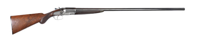 An 8-bore (3½in) single-barrelled sidelock hammer wild-fowling gun by T.H. Rigby, no. 98864