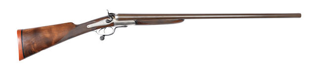 A London 8-bore (3¼in) hammer wild-fowling gun