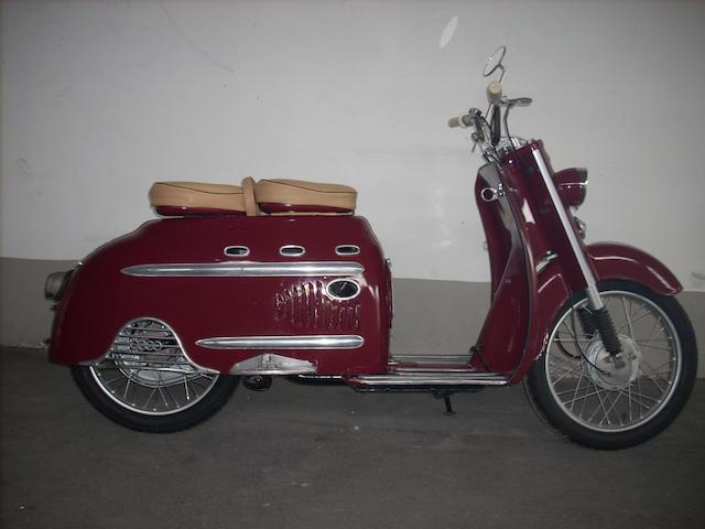 1955 DKW Hobby 75cc Luxus Frame no. 03513905 Engine no. 0315365