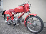 1959 Moto Rumi 125cc Turismo Frame no. 5300 Engine no. 1B8066