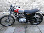 1974 Triumph 490cc TR5T Trophy Trail Frame no. HJ 57034 Engine no. HJ 57034