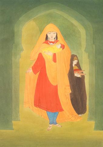 Abdur Rahman Chughtai (Pakistan, 1897-1975)