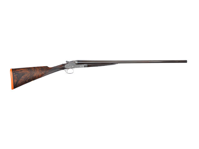 A fine and rare 16-bore single-trigger assisted-opening sidelock ejector gun by Boss & Co., no. 6215